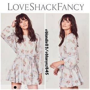 "LoveShackFancy ""Noelle"" Peri Print Dress S"